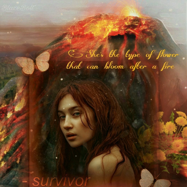 #inspirationalquotes #quotes #interesting #volcano #survivor #dandelions #strong