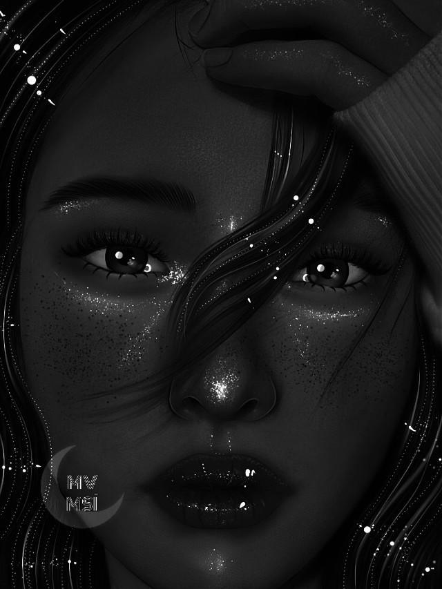 🖤 #ibispaintx #ibispaintxart #ibispaintedit #ibispaintxedits #black #blackandwhite #highlights #aesthetic #dark #art #interesting #fanart #artwork