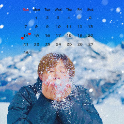 freetoedit bts btsjimin snow februarycalendar winterfeels srcfebruarycalendar2021 februarycalendar2021