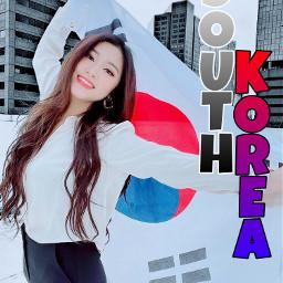 southkorea heyoonjeong koreaflag