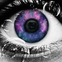 galaxyeye freetoedit eccolorsonblackandwhite colorsonblackandwhite