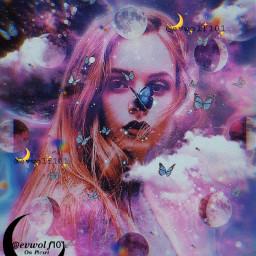 galaxy galaxyaesthetic galaxyedit aesthetic aesthetics aestheticedit papicks heypicsart butterflies butterfly butterflys moon moons clouds planet planets freetoedit