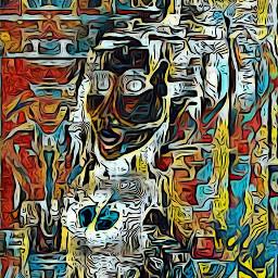 art digitalart digitaldrawing outsiderart abstractart colorpaint