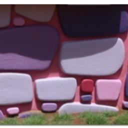 pink purple brick bricks