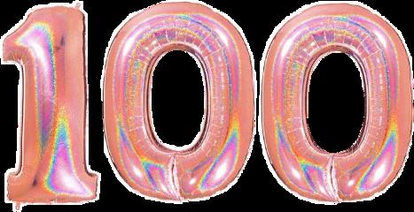 100 onehundred hundert hundred birthday followers remixit freetoedit
