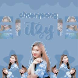 freetoedit chaeryeong itzy chaeryeongitzy itzychaeryeong