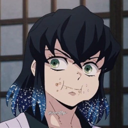 demonslayer demonslayeredit inosuke icon glittericon pfp anime