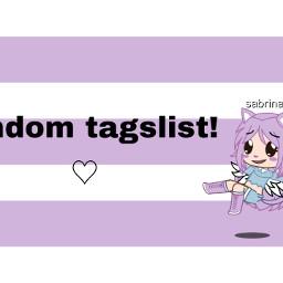 randomtaglist taglists
