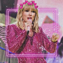 taylorswift taylor taylorswiftedit pink angel freetoedit