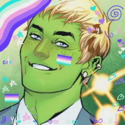 freetoedit teddyaltman hulkling marvel marveledit youngavengers gay mlm mlmgay newgayflag canon