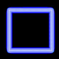 freetoedit neon glow purple square