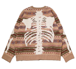 sweater top skeleton bones shirt freetoedit