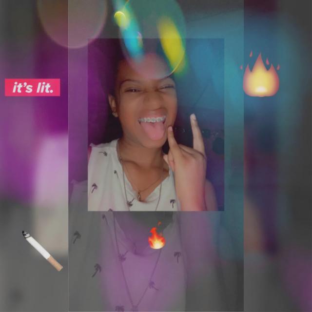 Im always lit #imalwayslit #litgirl #popping