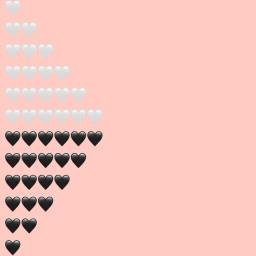 hearts aesthetic