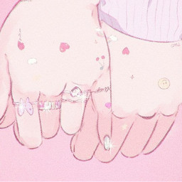 aesthetic kwaii hands girl girly friends pink aestheticpink anime aestheticanime