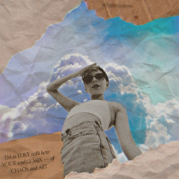 freetoedit blackandwhite pop vintage paper popart collage collageart note lovenote woman