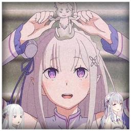rezero rezeroemilia emilia edit anime freetoedit