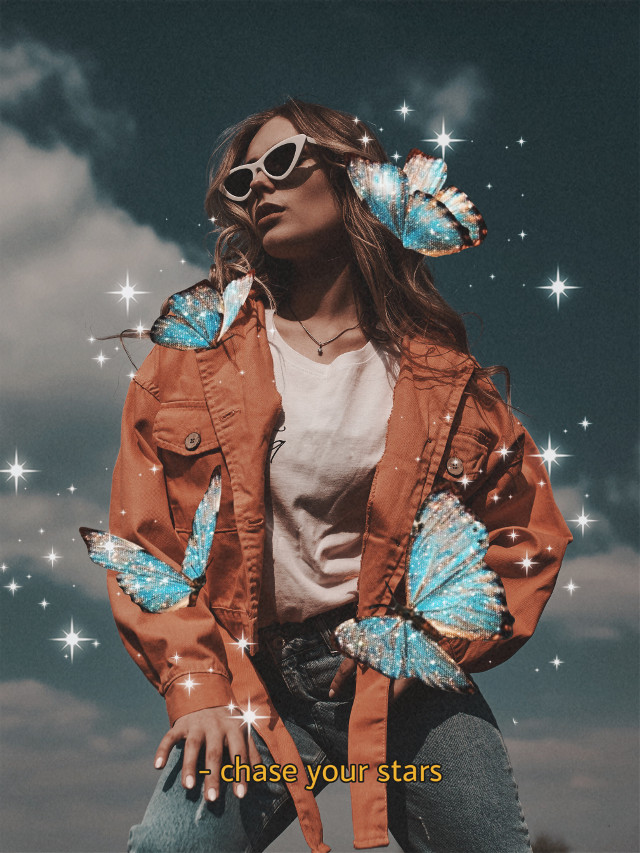 🦋Make your edits fly off the screen with PicsArt Stickers and FX 🦋 #butterflies #fashionphotogrpahy #3d #3deffect #sparkle #aesthetic #freetoedit  Inspired by @tatevesthetic7--