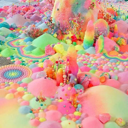 textures colors sweets treats