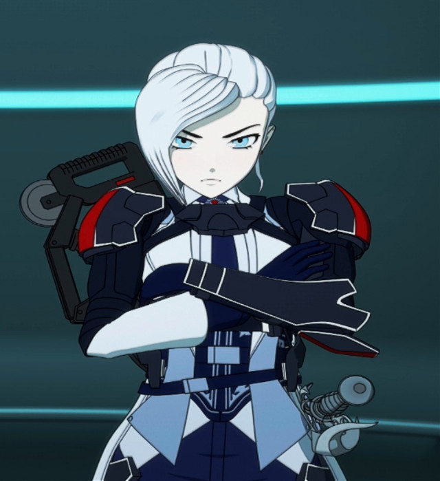 When you did wrong move to bae,her expression be like #rwby #winterschnee #winter #rwbywinter #rwby_winter