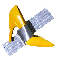 yellowshoe shoetape barbie fineart freetoedit