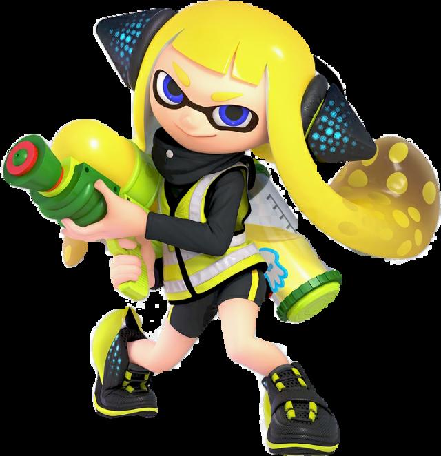 #splatoon #supersmashbrosultimate #agent3 #nintendoswitch #splatoon2  #inklinggirl  #squid #ink #splatoon #yellowinkling #yellowagent3