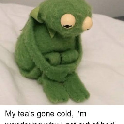 kermit kermitthefrog frog sad myteasgonecold meme lonely kermitmemes