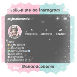 instagram edits newaccount