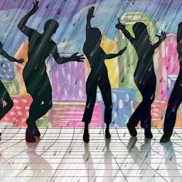 dance editedbyme rain