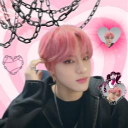 erictheboyz theboyz draculaura cybercore y2k kpop joongxious instagram ericsohn erictheboyzedit theboyzeric theboyzedit monster monsterhigh vampire pink cute kpopcyber freetoedit