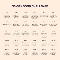 30daychallenge 30daysongchallenge
