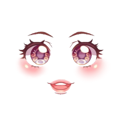cool face roblox happy cute adopt me adoptme freetoedit