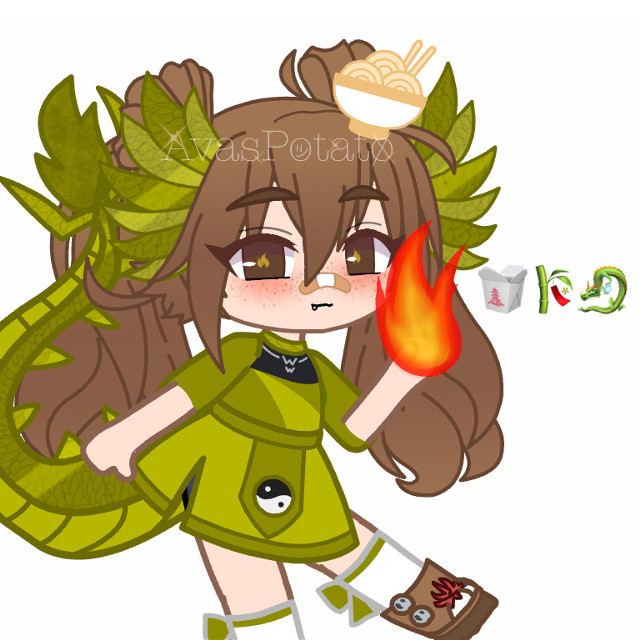 """Ah yes- a new oc 🍵✨✋  This is foooooor @d1no_nuggets_ !! (I love your username-)   This was very similar to the 🐲🍜🎋 oc, but i chose to do something different this time :3     ITS A DRAGON-GIRL- 😍🎨✨‼️ I am really proud of this one why am I? ✋✨😾   I think I will start with a thing called """"𝙏𝙝𝙞𝙣𝙜𝙨 𝙄𝙣 𝙈𝙮 𝙉𝙤𝙧𝙬𝙚𝙜𝙞𝙖𝙣 𝙃𝙤𝙪𝙨𝙚 𝙏𝙝𝙖𝙩 𝙅𝙪𝙨𝙩 𝙈𝙖𝙠𝙚𝙨 ✨𝙎𝙚𝙣𝙨𝙚✨""""  Yes yes okey 😾🇳🇴✨   Brrrrrr I have baked cinnamon rolls with my bestie from 7:00 PM to 10:50 PM, we used almost 4 hours- wow- I am confused over my life, As I said layimg on the floor:  """"I sIT By mYseLf~...dOuBtInG My LiFe DecIsIOnS oOoOOoH"""" (Yes-)    Can I go to sleep now? Its 11:49 PM amd i am TIRED- 😾  Nighty my precious potatoes!! ✨💭‼️😾  #chinesefoodbox #bamboo #dragon #oc #gacha #gachaclub #gachacluboc #gachaclubedit #edit #smolledit #kindaproudtbh #eHe- #letmegotosleep #cuteoc #avaspotatoedits #tiredbeanistyping...   @wisteria_skies @-sxlv3r__ @-_kyoto_- @psychic_friend_fred @jessiebear2020 @-_bxby_angxel_- @_mooberruwu_ @kittykittymowmo @_liu-vicki-woods_ @-claxre__ @-_shadow_garden_- @oceane_draw @ksesw   Have a good day beans, just a reminder... YIUR WORTH IT!! 🦋✨👑🏳️🌈‼️😾✋💕🥪👉👈🪑💕🎨✨👑🥪🐸✋"""