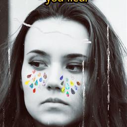 sad challenge tears theweeknd rcpaperdrops paperdrops freetoedit