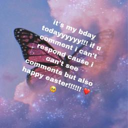 birthday easter freetoedit