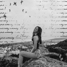 black white blackandwhite girl unsplash srchandwrittenbackground handwrittenbackground