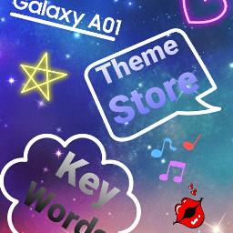 techprodee techdee text heart space star musicsymbols lips blue pink twinkle