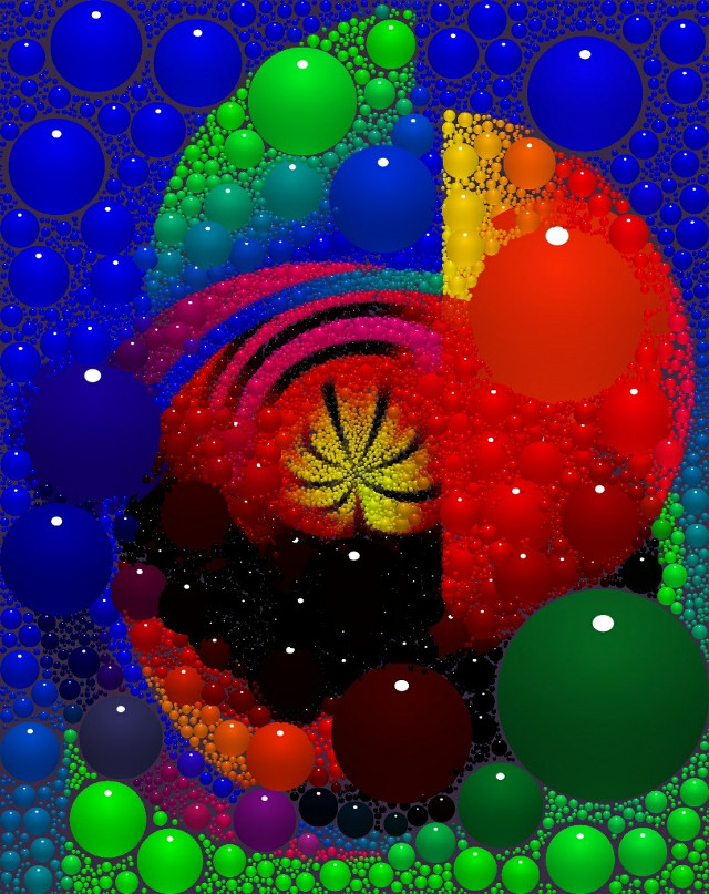 #digitalart #modernart #popart #artisticexpression #colorful #spheres #design #mydesign #myedit