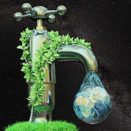 wasserhahn umwelt klimawandel freetoedit