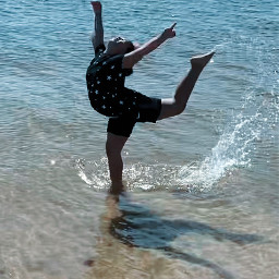 freetoedit beachday watersplash joy pcshadows shadows