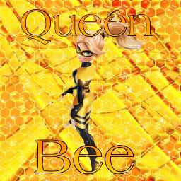 miraculous fanart miraculousfanart queenbee miraculouschloe chloebourgeois chloe miraculousladybug chöoeedit