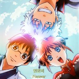 gintama yorozuya yorozuyaginchan gintoki gintokisakata kagura kagurayato icon animeicon gintamaicon shinpachi shinpachishimura anime freetoedit