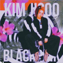kimjisoo jisoo blackpink tropical floral twilightzone swirl gif kpopedit redaesthetic