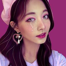 manip manipulation ibispaintx tzuyu twice kpop pinkaesthetic