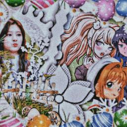 freetoedit anime minju izone picsart roleplayer kpop