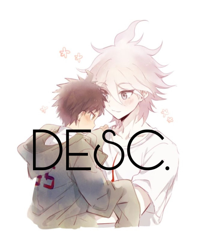 So hi i deleted my old picart account and vreated a new one.  My old one was @killuasUwUface.  I want to make more daganronpa edits and stuff (i have a kazuichi cosplay).  I hope you enjoy my edits when i post them. ✨❤️ #loveyall