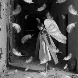freetoedit angel woman darke goodness