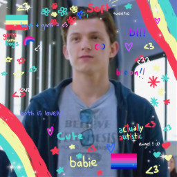 peterpareker spiderman spidermanedit marvel marveledit mcu mcuedit bi bisexual autistic autisticbi autisticbisexual headcanon freetoedit