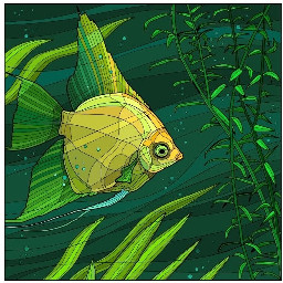 green fish tropicalfish freetoedit