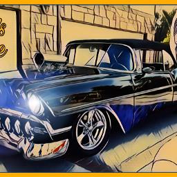 freetoedit edited art inspiration madewithpicsart artistic stickers magiceffects collage automotive